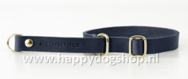 Molly & Stitch Retriever Halsband Navy Blue