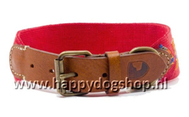 Buddys Halsband Etna Red Maat S