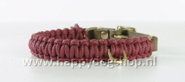Molly & Stitch halsband Redwine Maat XS