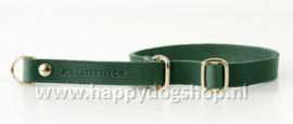 Molly & Stitch Retriever Halsband Forest Green