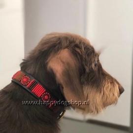 Nata'Chien Halsband Vanille Maat XS (2 cm breed)