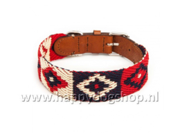 Buddys Dogwear Halsband Peruvian Indian Maat S