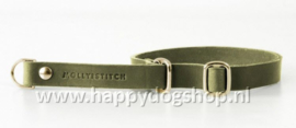 Molly & Stitch Retriever Halsband Olive Tree Green