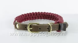 Molly & Stitch halsband Redwine Maat XS