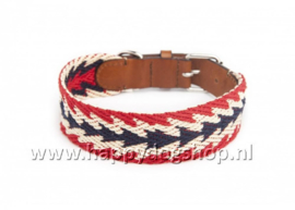 Buddys Dogwear Halsband Peruvian Arrow Red Maat XL