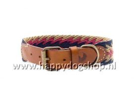 Buddys Dogwear Halsband Peruvian Blue Arrow Maat M