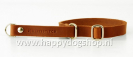Molly & Stitch Retriever Halsband Sahara Cognac