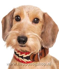 Buddys Dogwear Halsband Peruvian Arrow Red Maat L