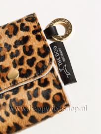 Beloningstasje voor hondenkoekjes Leopard