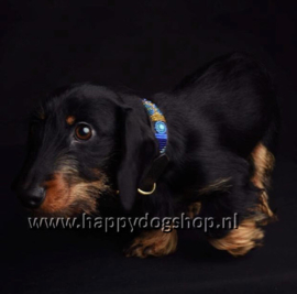 Nata'Chien Halsband Charly Maat S (2 cm breed)