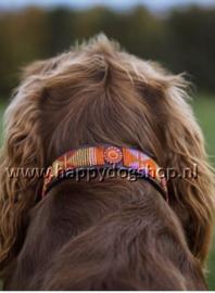 Nata'Chien Halsband Framboise Maat XS    (2 cm breed)