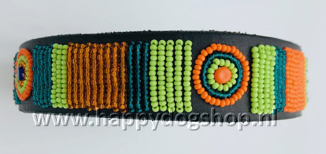 Nata'Chien Halsband Lucy Maat S (2 cm breed)