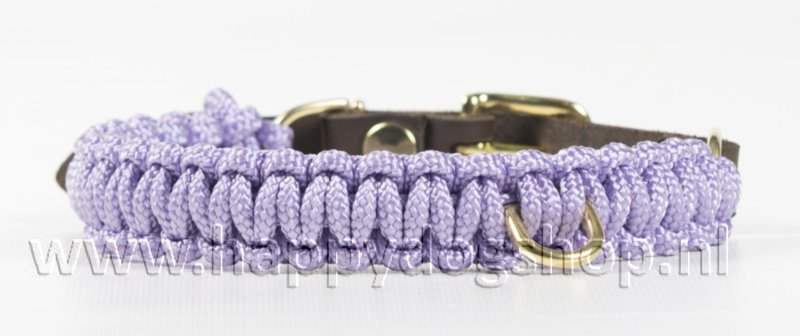 Molly & Stitch halsband Lavender Maat L