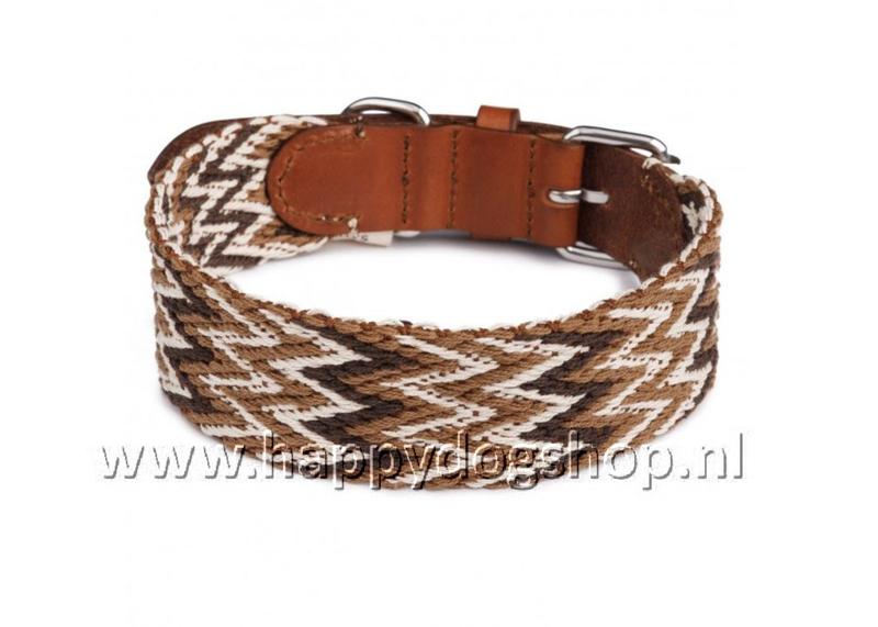 Buddys Halsband Peruvian Marron