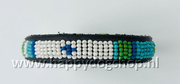 Nata'Chien Halsband Pilou Maat XS (1,5 cm breed)