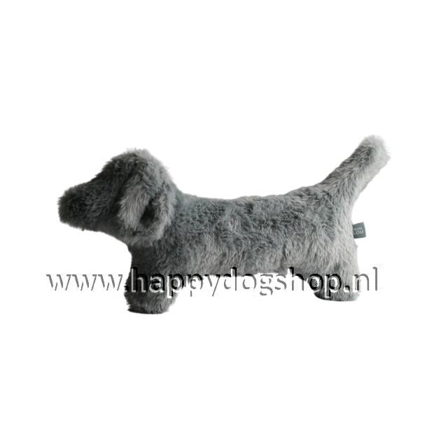 Hondenknuffel Teckel  Grijs