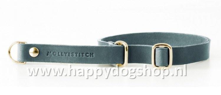 Molly & Stitch Retriever Halsband Timeless Gray