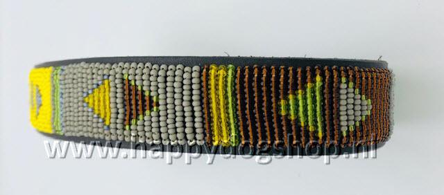 Nata'Chien Halsband Pimms Maat XS (2 cm breed)