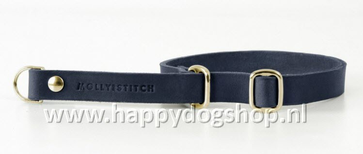 Molly & Stitch Retriever Halsband Navy Blue