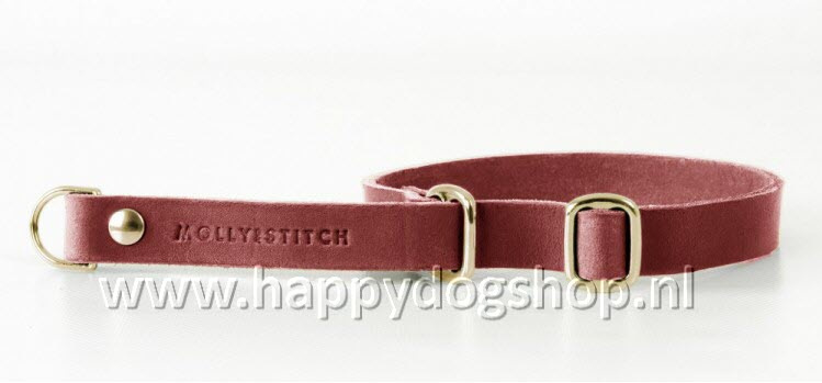Molly & Stitch Retriever Halsband Chili Red