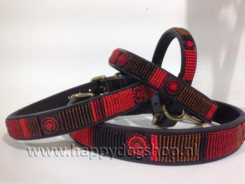 Nata'Chien Halsband Vanille Maat XS (1,5 cm breed)