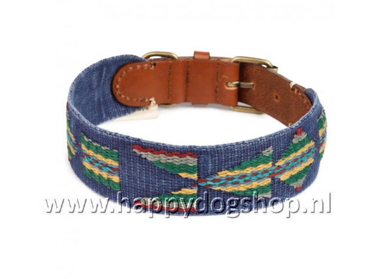 Buddys Dogwear Halsband Etna Azul