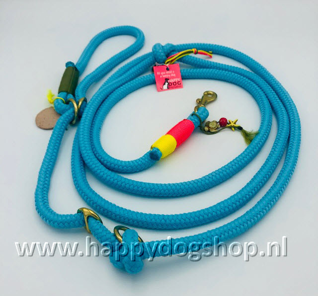 Happy Dog Summer Retrieverlijn Turquoise