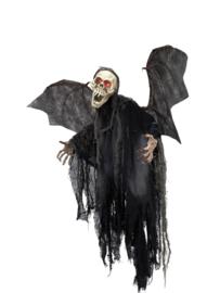 EUROPALMS Halloween figuur vleermuis spook 85cm