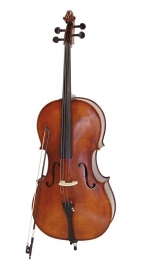 DIMAVERY Cello 4/4 met soft-bag