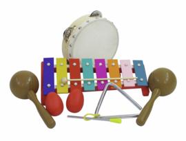 DIMAVERY Percussion-Set III, 7 delen