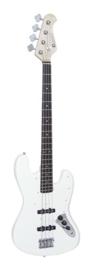 DIMAVERY JB-302 E-Bass, white
