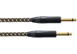 Cordial -TWEED 25e jubileumeditie instrumentkabel jack 6.35 TS - jack 6.35 TS tweed 3m