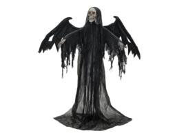 EUROPALMS Halloween Black Angel, 175x100x66cm
