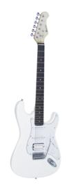 DIMAVERY ST-312 E-gitaar, wit