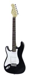 DIMAVERY ST-203 E-Guitar LH, zwart