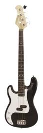 DIMAVERY PB-320 E-Bass LH, zwart