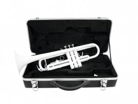 DIMAVERY TP-10 Bb Trompet, wit