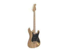 DIMAVERY ST-303 E-Guitar, nature