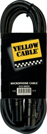 Yellow Cable - Xlr male/xlr female - 3m