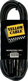Yellow Cable - Xlr male/xlr female - 3m
