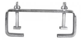 EUROLITE TCH-50/20, C-klem 20cm, zilver