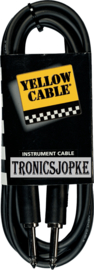 Yellow Cable  - jack / jack -  3 meter