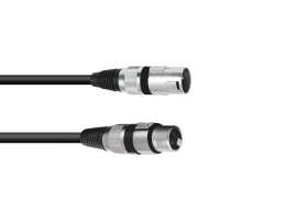 OMNITRONIC - XLR cable - 3pin - 0.5m