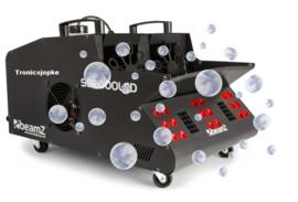 BeamZSB2000LED Rook- & Bellenblaasmachine RGB LED's
