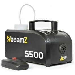BeamZS500 Kunststof Rookmachine inclusief rookvloeistof