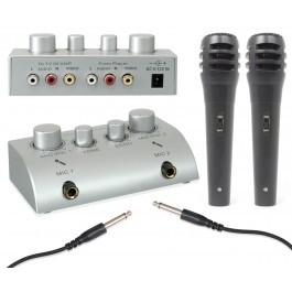 SkyTronicKaraoke microfoonmixer + microfoons
