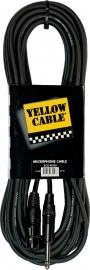Yellow Cable - Jack mono male/xlr female 10m