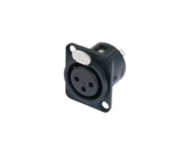 NEUTRIK XLR-montagesokkel 3 PINS
