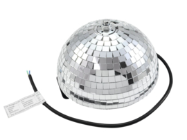 EUROLITE Half Mirror Ball 20cm motorized