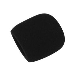 OMNITRONIC Microfoon Windscherm, zwart, d = 40-50 mm